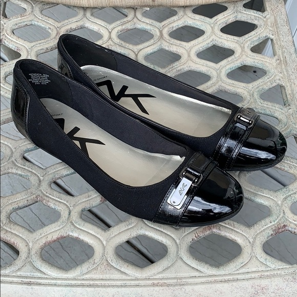 Anne Klein Sport Shoes - Anne Klein black flats